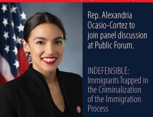 Rep. Ocasio-Cortez Joins DC Forum on Ending Criminalization of Immigration