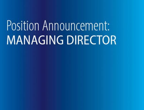 Position Announcement: Managing Director