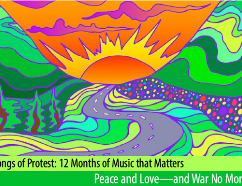 In Peace and Love: JusticeAid's March Songs of Protest