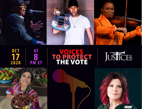 """Voices to Protect the Vote"" Online Concert on October 17th at 8 pm ET"