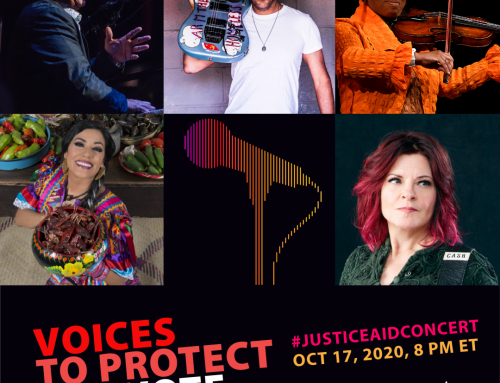 "Join Us at the 2nd ""Voices to Protect the Vote"" Online Concert,  Oct. 17th at 8 pm ET"