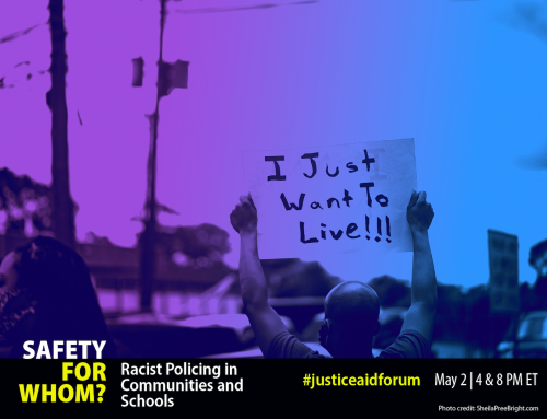 Safety for Whom? May 2nd Public Forum on Racist Policing