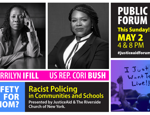 US Rep. Cori Bush Added to this Sunday's Forum on Racist Policing: Join Us!